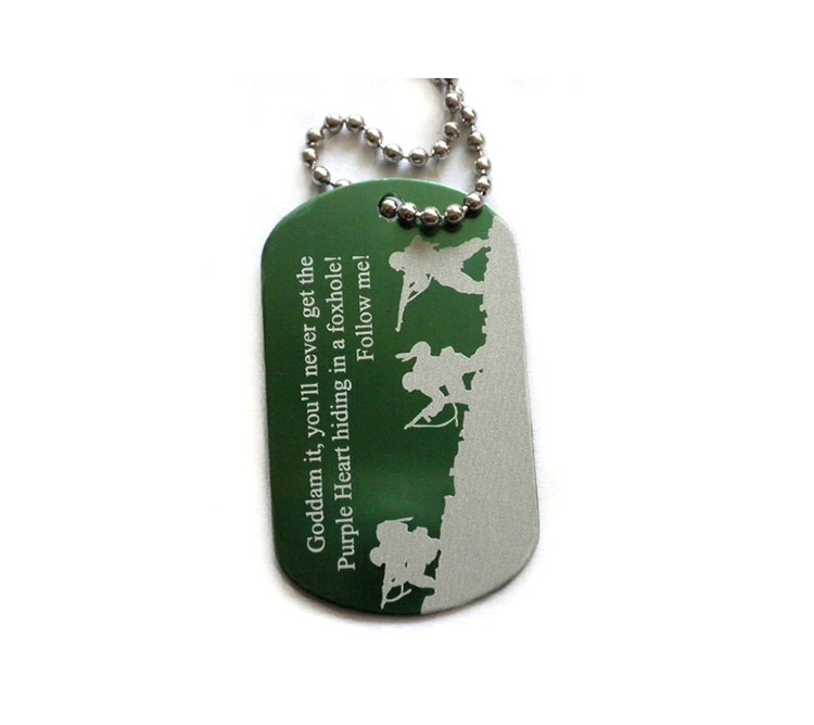 Dogtag Anodized Laser