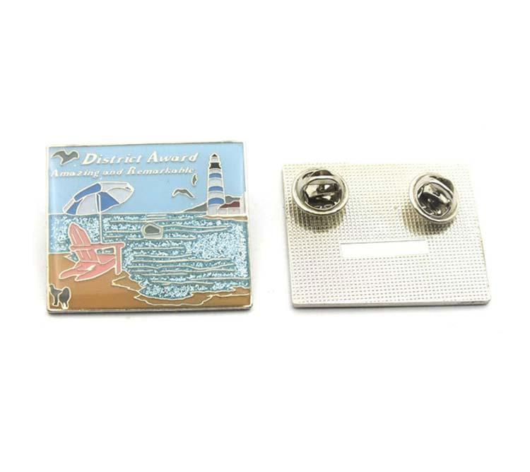 Lapel Pins Silkcreen / Offset Printing