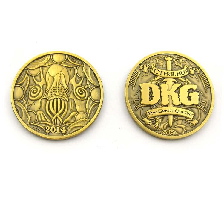 Challenge Coin Die Struck