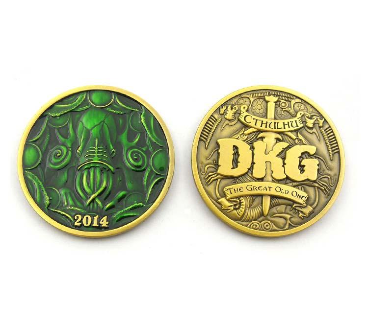 Challenge Coin Die Cast Soft Enamel