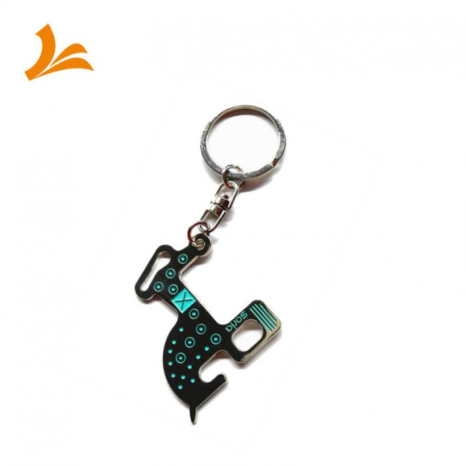 Key Chain Die Struck Soft Enamel