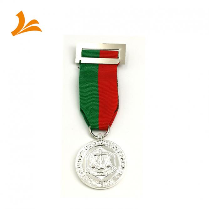 Medal / Medallion Die Cast With Ribbon